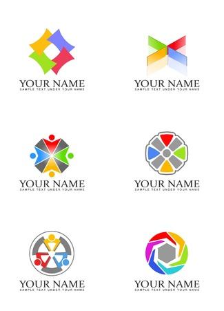 Design elements for logo Фото со стока - 9008739