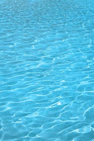 純粋な青い水の背景 写真素材