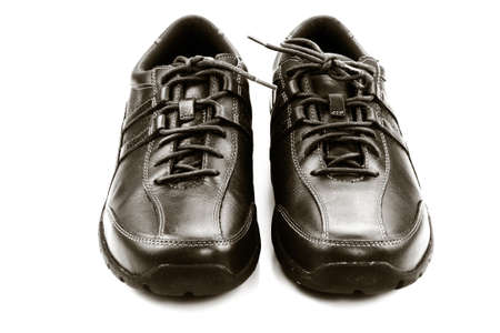 Leather shoes photo