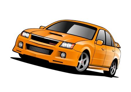 Sports car concept photo