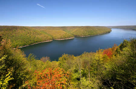 Allegheny national forest in Pennsylvania Stock Photo - 9250420