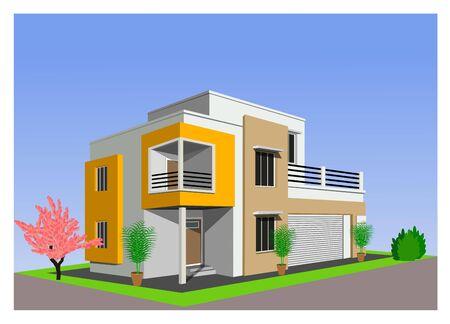 현대 가정 건축