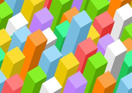 Rectangular prism background Imagens