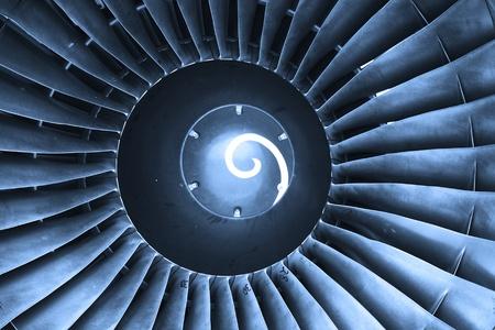 turbina: Cerrar un disparo de h�lice de vuelo de jet