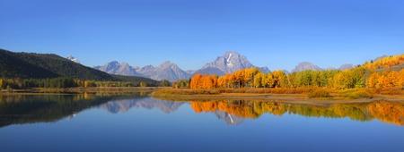 Grand-Teton-Nationalpark im Herbst Zeit Standard-Bild - 10674143