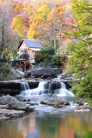 west virginia: Glade creek grist mil Stock Photo