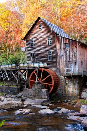 grist: Glade creek Grist mill