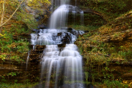 Cathedral water falls