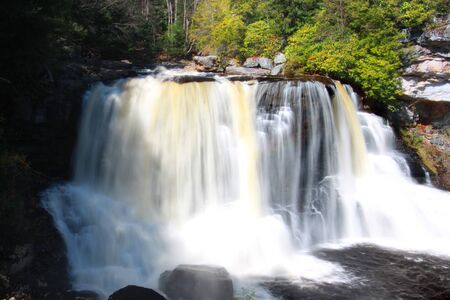appalachian mountains: Black water falls state park in West virginia