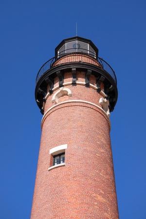 lake michigan lighthouse: Poco punto de sable de luz la casa en Michigan