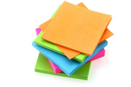Stack of sticky notes Stock Photo - 11912339
