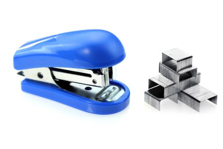 Stapler and staples photo