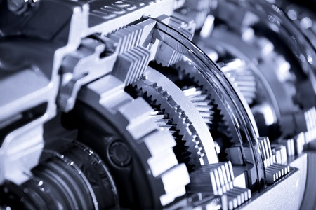 industrial machinery: Automotive transmission
