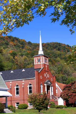 Historic church in West Virginia Stock Photo - 12429282