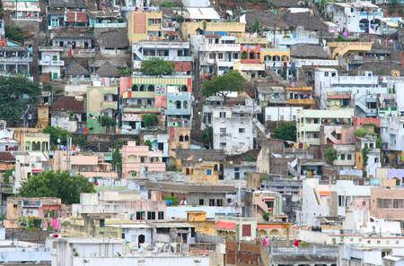 Homes in Indian city Vijayawada