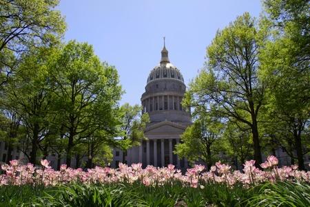 Tulip tuin voor West Virginia hoofdstad