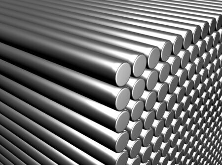 cross bar: An illustration of metal rod background