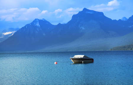 mcdonald: Lake McDonald in Glacier national park