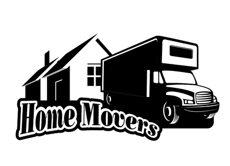An illustration of home movers icon