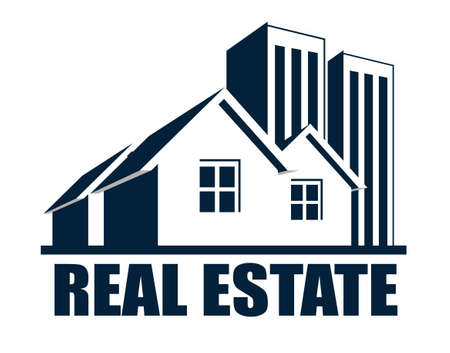 An illustration of real estate icon