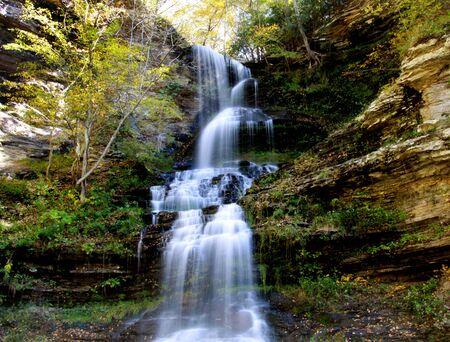 Beautiful Cascade water falls in West Virginia photo