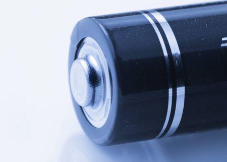 単一電池のショットを極端なクローズ 写真素材