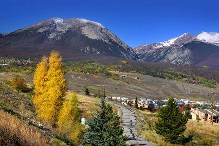 colorado: Scenic landscape near Vail Colorado