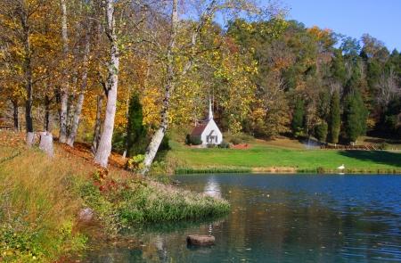 landscape: Scenic landscape near Romance in West Virginia