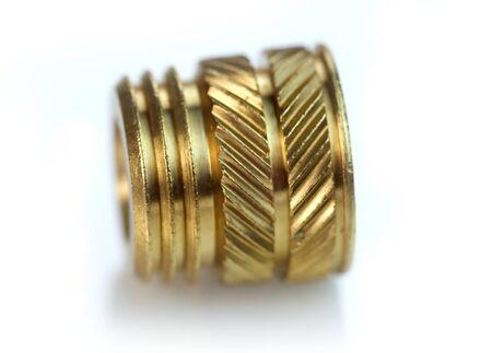 threaded: Brass threaded insert