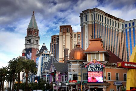 lasvegas: LAS VEGAS - DEC 27  LasVegas hotels and casino on December 27, 2012 in Las Vegas  Nevada casino s revenue in 2012 hit 10 8 billion USD