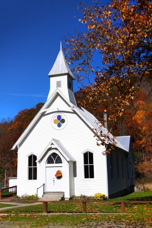 west virginia: Small church in west virginia