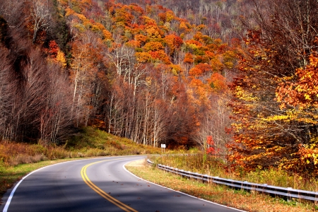 Highland scenic high way photo