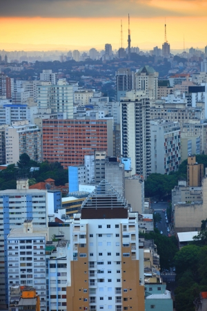 Downtown Sao Paulo Stock Photo