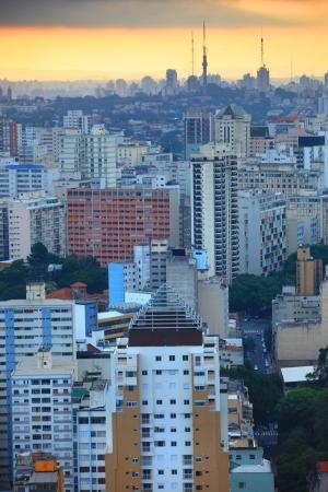 Downtown Sao Paulo 版權商用圖片