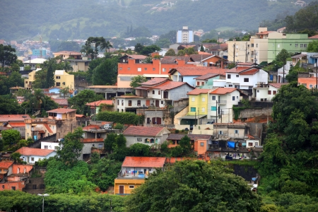 conglomeration: Mairinque city near Sao Roque in Brazil