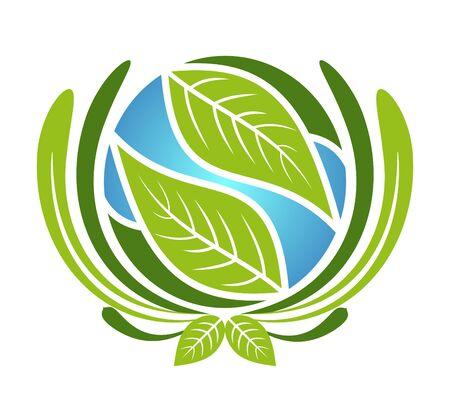 ozone friendly: An illustration of green plane icon