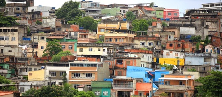 Panoramic view of small Brazilian town
