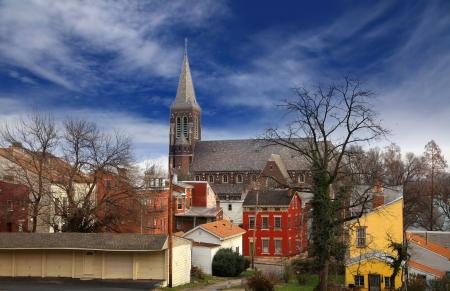 Cincinnati historic district 版權商用圖片 - 22095797
