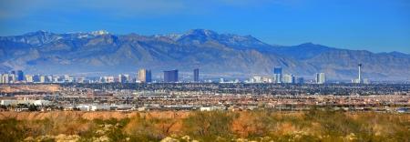 Las Vegas strip 写真素材