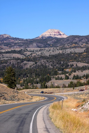 Route 212 Beartooth high way
