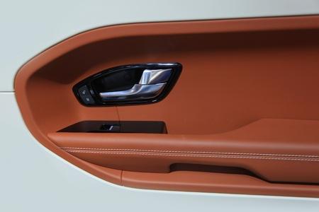 Inter design of luxury car door Stock Photo - 20655216