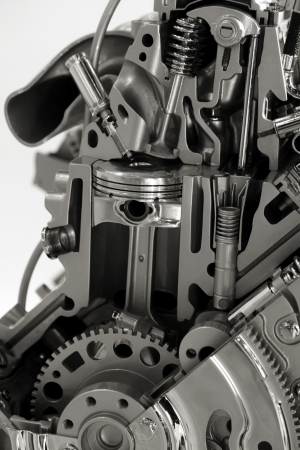Internal combustion engine Stock Photo