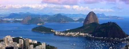 Panoramic view of Rio De Janeiro landscape photo