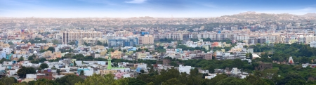 hyderabad: Panoramic view of Hyderabad
