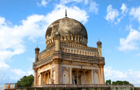 hyderabad: Tombs in Hyderabad Stock Photo