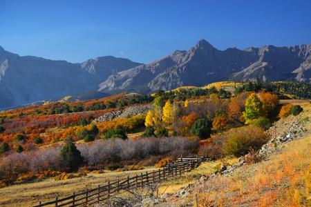 juan: Dallas divide in Colorado in autumn time Stock Photo