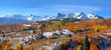 colorado mountains: Dallas Divide panorama