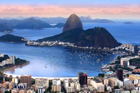 Rio De Janeiro, Brazil landscape 스톡 콘텐츠