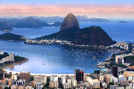 rio: Rio De Janeiro, Brazil landscape Stock Photo
