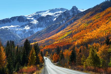 four peaks wilderness: Million dollar highway
